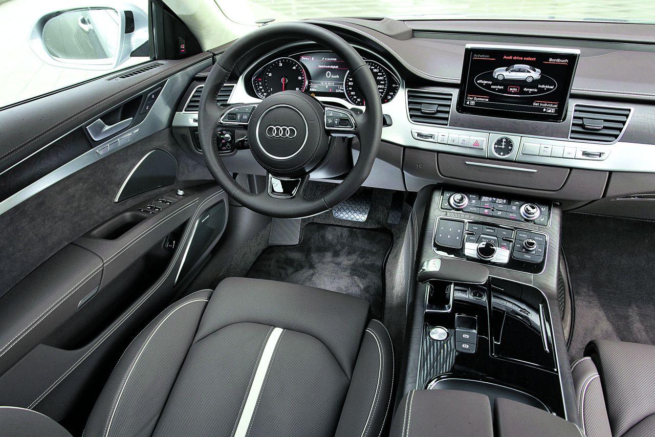 Audi A8 Vorstellung Duesseldorf Audi A8 4 2 Tdi Auto Bild