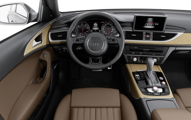 Audi A6 facelift interior