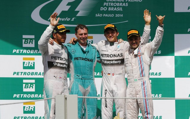 podium interlagos 2014