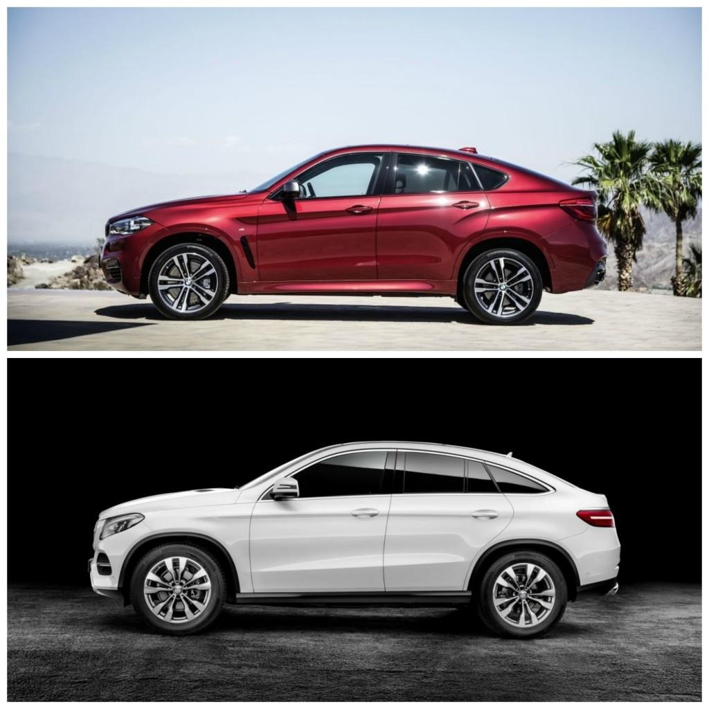 gle coupe vs x6