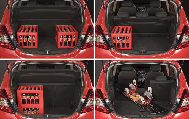 Opel Corsa D Second hand portbagaj modularitate