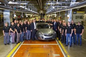 Uzina Opel din Russelsheim a produs primul vehicul sub brandul Holden - AutoBild
