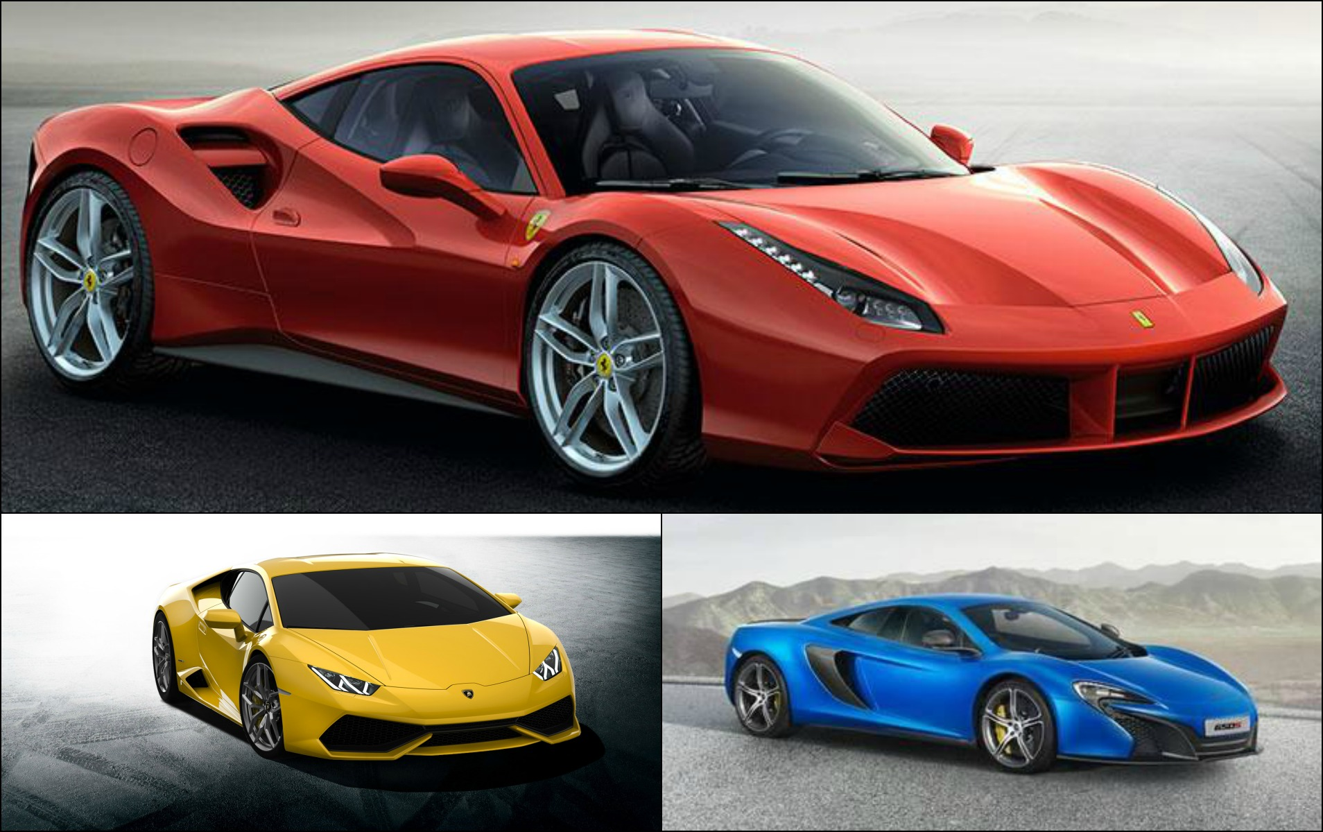 compara ie direct ferrari 488 gtb vs lamborghini. Black Bedroom Furniture Sets. Home Design Ideas