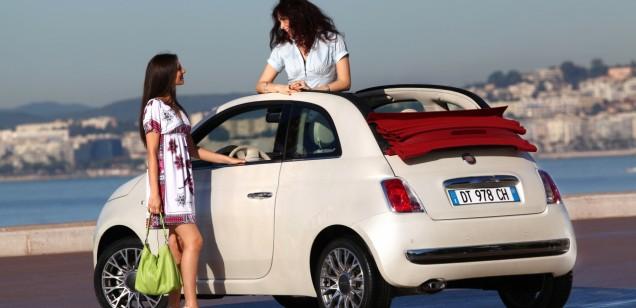 Cabriolete Fiat 500 Cabriolet