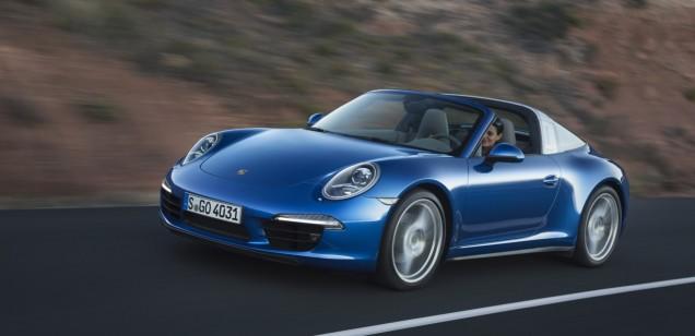 Cabriolete Porsche 911 Targa