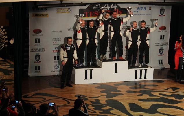 Cupa Dacia: Ivan Viorel - Dumitru Gheorghe: Bogdan Talașman - Andrei Mitrașcă: Adrian Drăgan - Valentin Brădătean (de la stânga la dreapta)