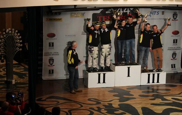 Cupa Suzuki: Alexandru Ardelean - Horațiu Baltador: Vald Cosma - Diana Hațegan : Horia Chiribuț - Andrei Hicea (de la stânga la dreapta)