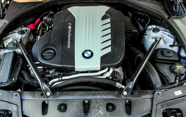 BMW M550d interior
