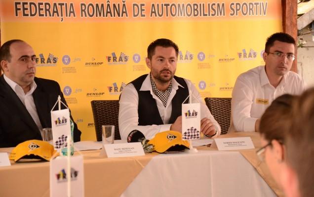 Radu Bidiugan, dir. INCS, Norris Măgeanu, Președinte FRAS, Darius Petre, Președinte Comisie Media