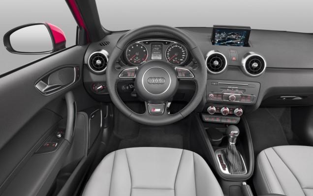 Audi A1: plansa de bord