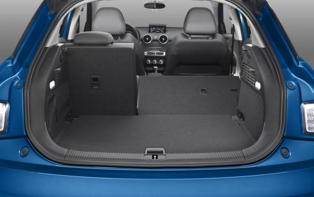 Audi A1: portbagaj