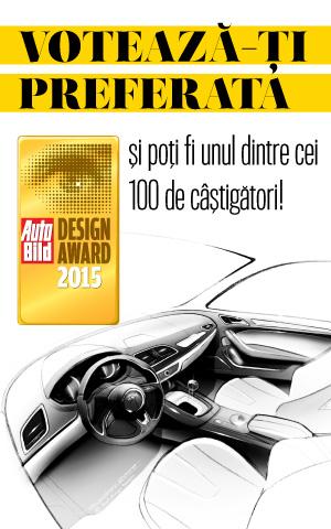 CONCURS | Auto Bild Design Award 2015