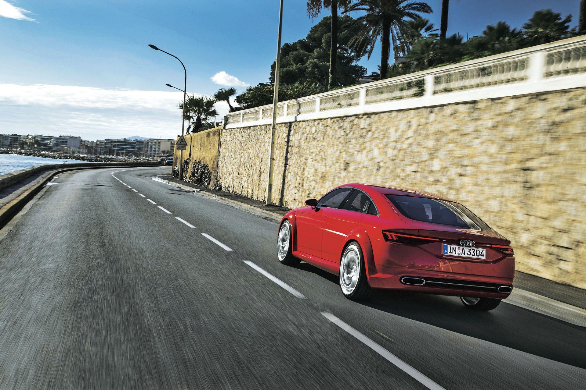 Audi Tt Sportback Auto Bild