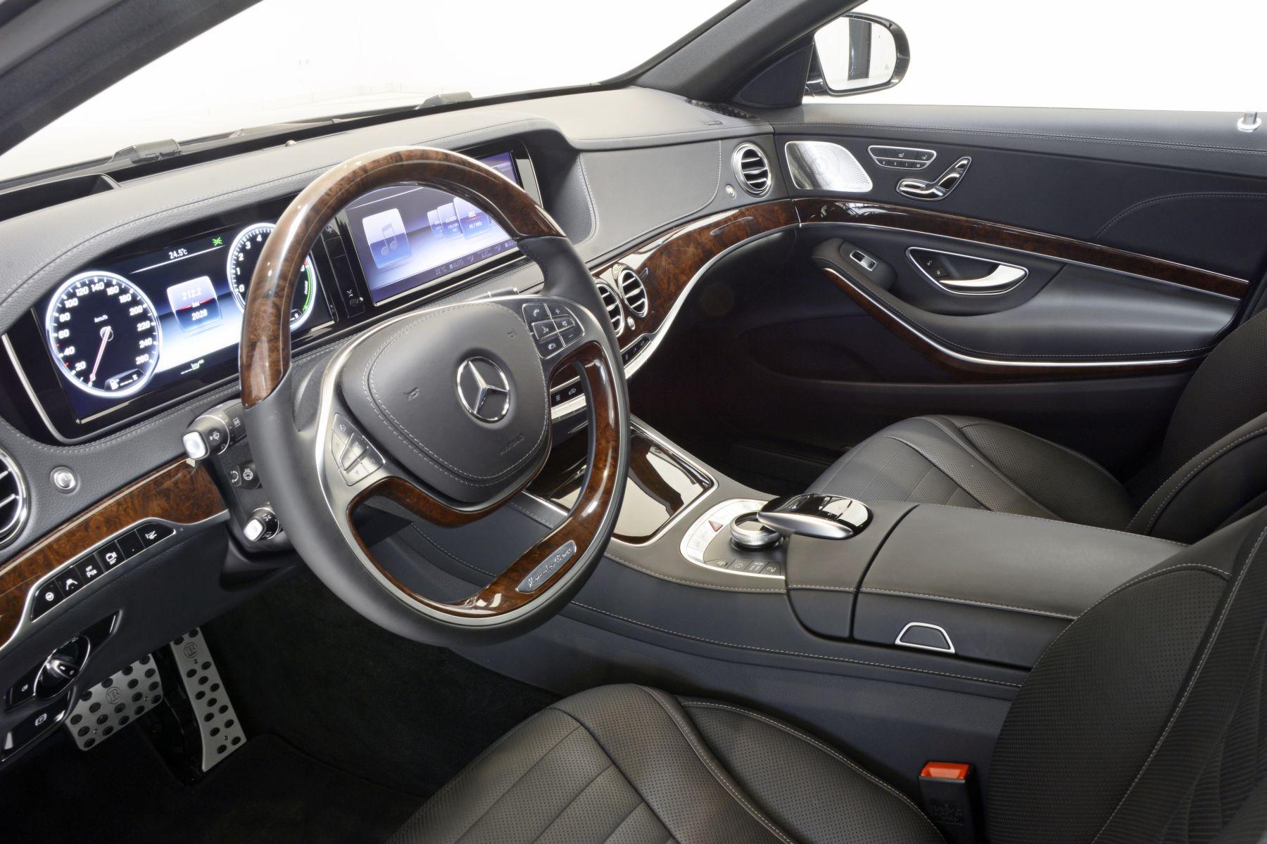 Brabus lanseaz un kit special pentru mercedes benz s500 for Mercedes benz car care kit