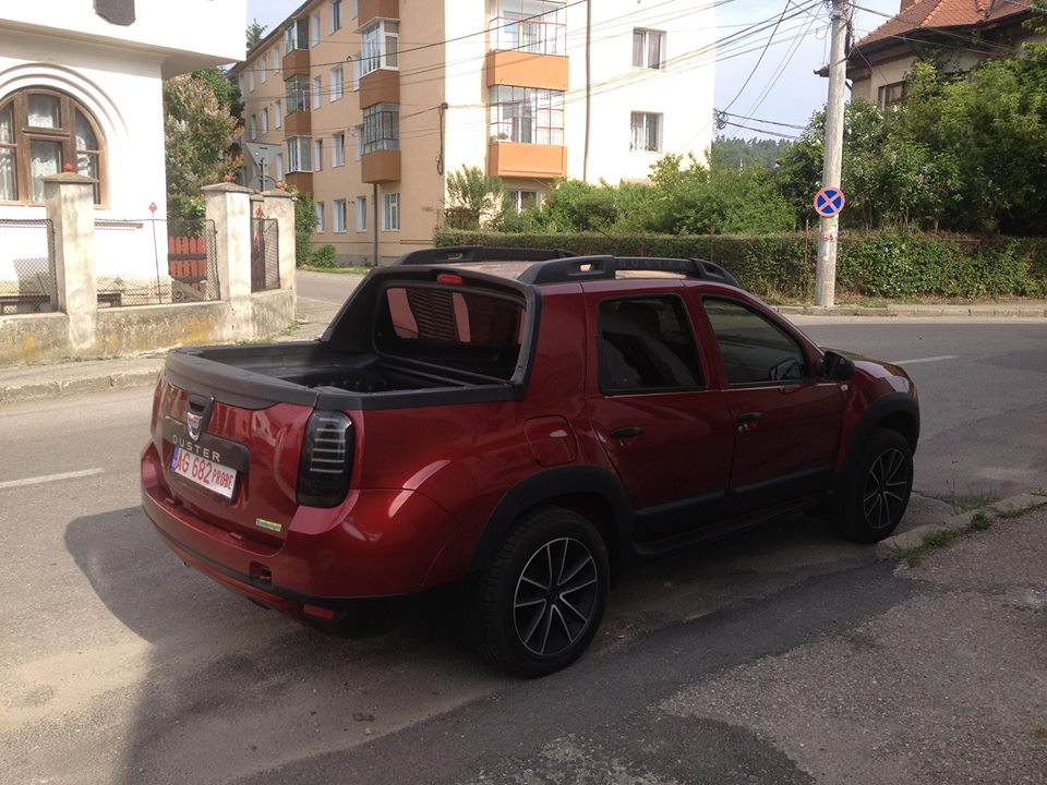 dacia duster pick up cabina dubla by romturingia 5 auto bild. Black Bedroom Furniture Sets. Home Design Ideas