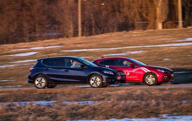 Comparativ Mazda3 vs Nissan Pulsar (4)