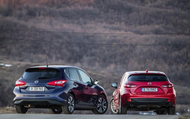Comparativ Mazda3 vs Nissan Pulsar (8)