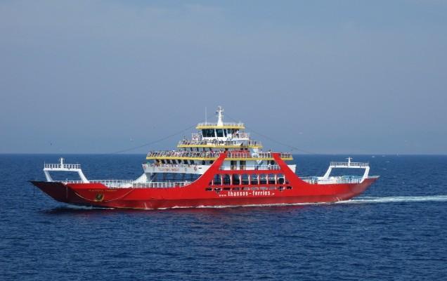 Vacanta in Thassos: Ferry