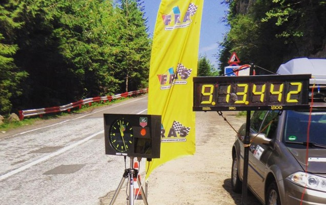 transfagarasan speed record