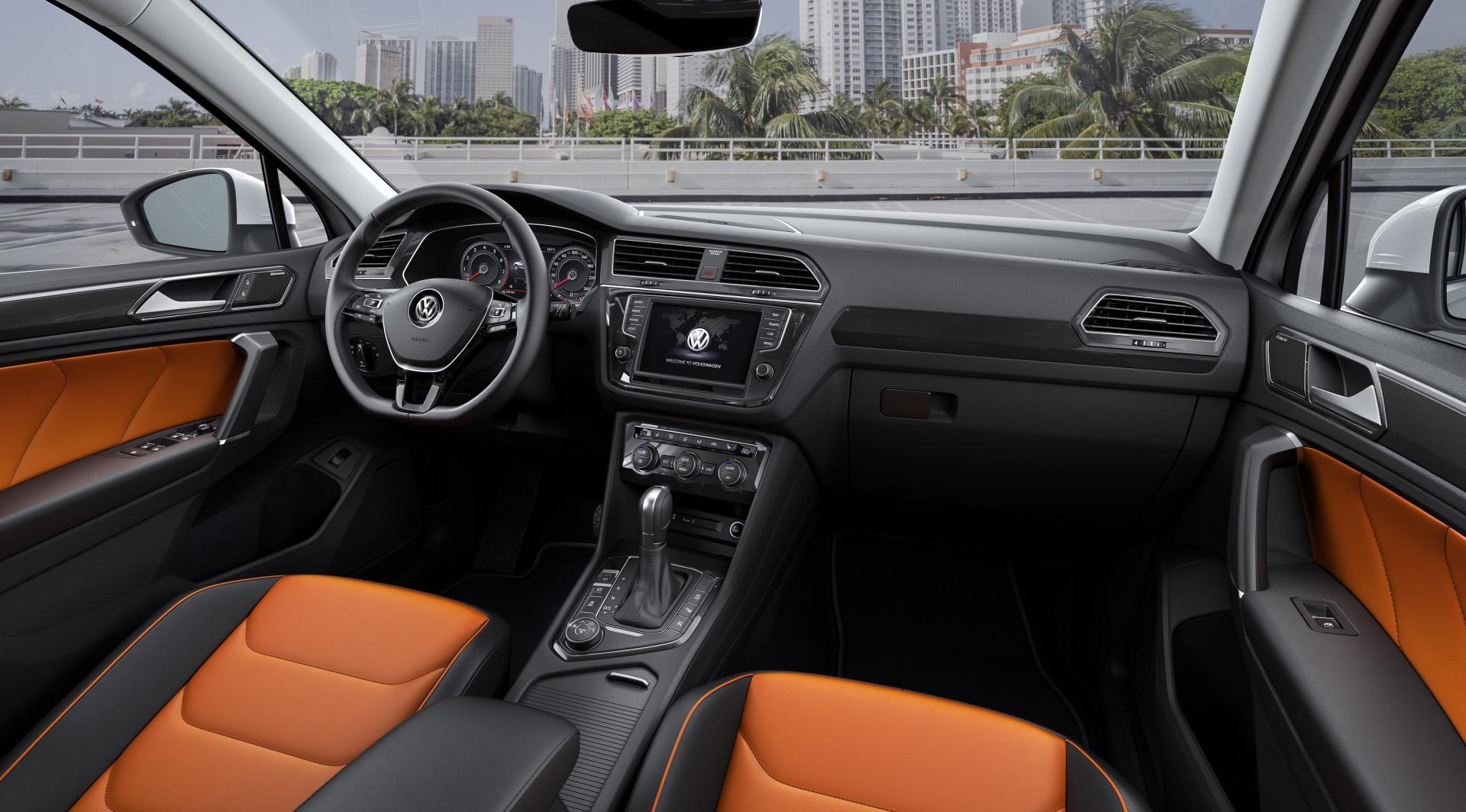 Der Neue Volkswagen Tiguan R Line Auto Bild