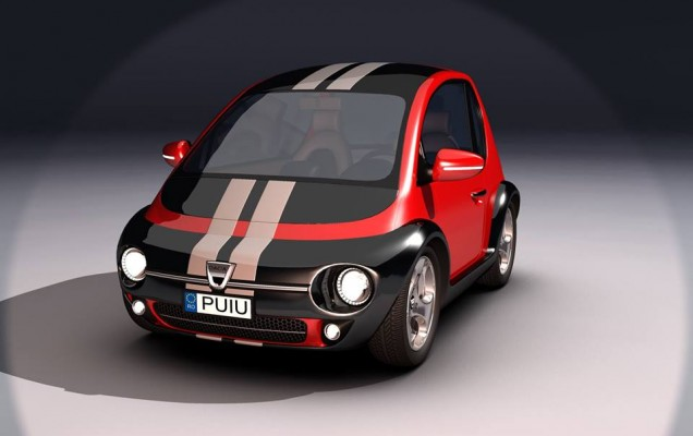 Dacia Mini Eco - Concept virtual