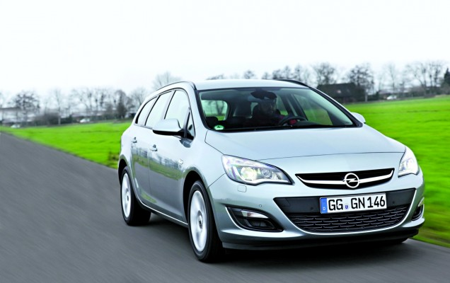 Break-uri compacte:Opel Astra Sports Tourer
