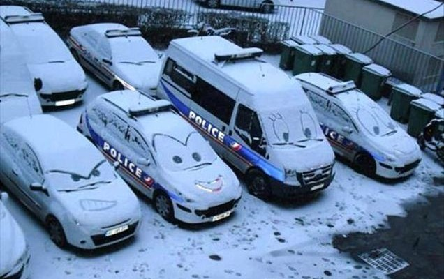 funny-cars-snow-faces