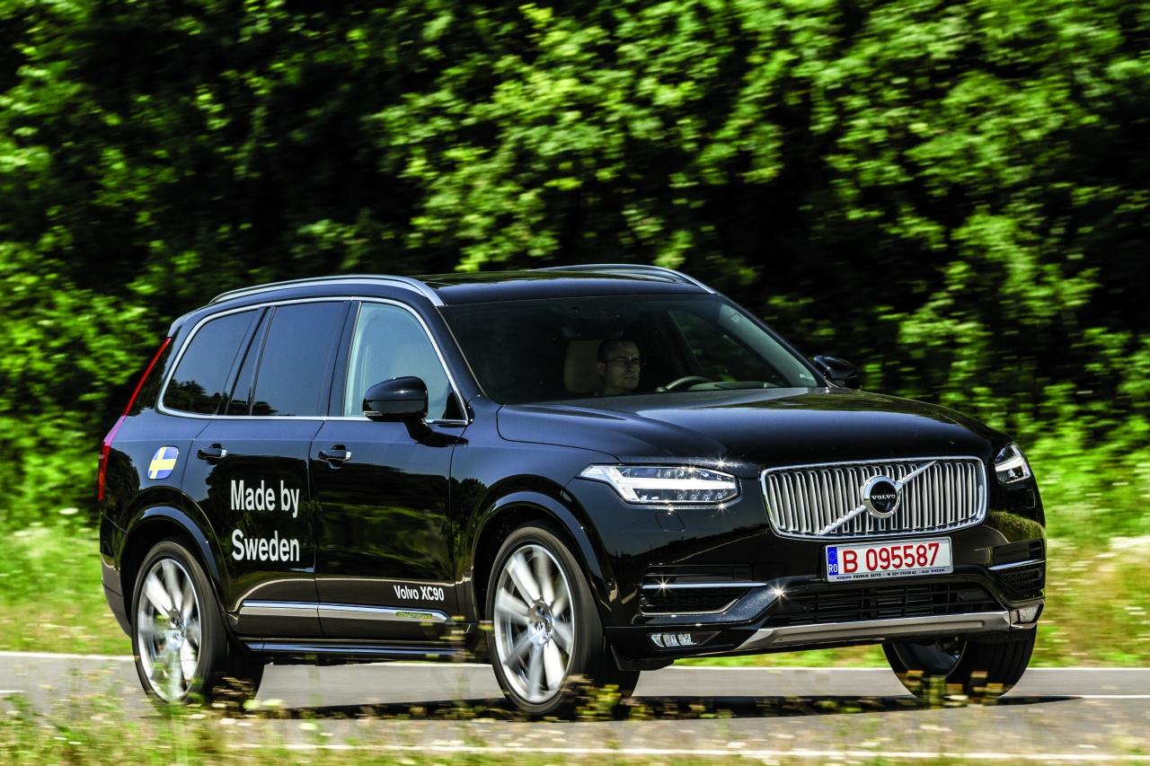 Volvo Xc90 Auto Bild