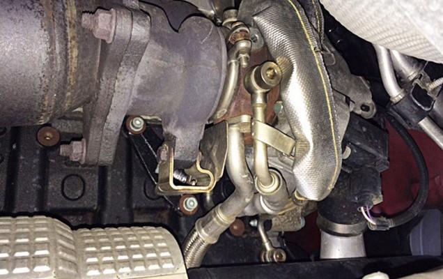 Turbolader vom VW Golf 5 GTI Gebrauchtwagen