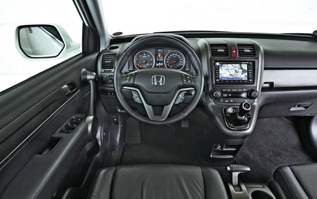 Cockpit vom Honda CRV