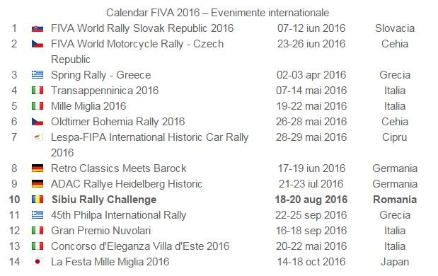 calendar fiva 2016