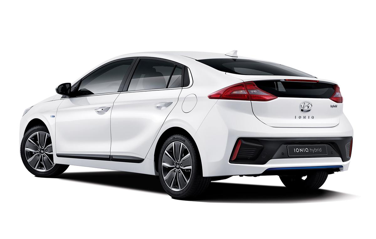 2016 Hyundai Ioniq 1 Auto Bild