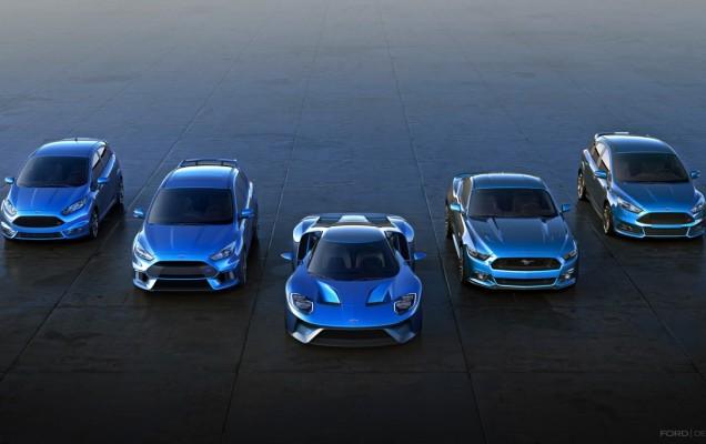 Ford Performance Range