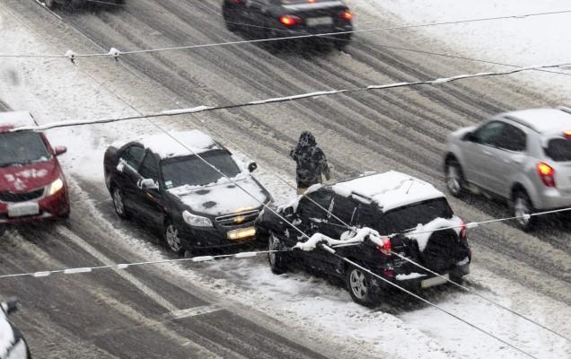 Conducerea pe timp de iarna