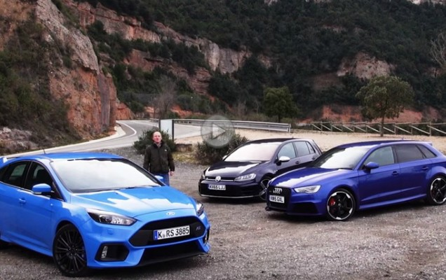 comparativ focus rs