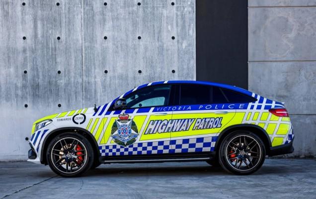 2016 mercedes-amg gle 63 s coupe politie australia (2)