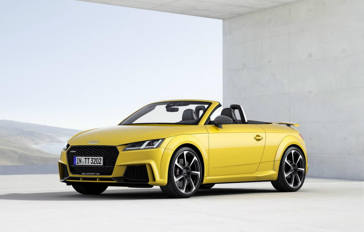 2016 Audi Tt Rs Bejing 1 Auto Bild