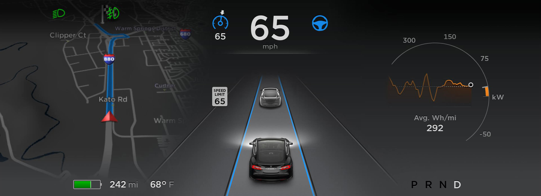 2017 Tesla Model S Facelift 3 Auto Bild