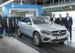 productie mercedes-benz glc coupe