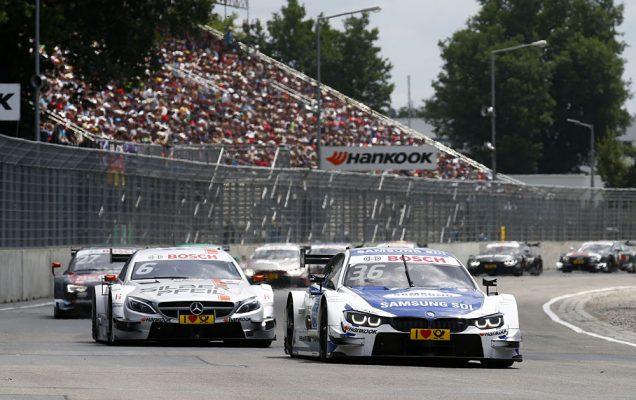 Motorsports: DTM race Norisring