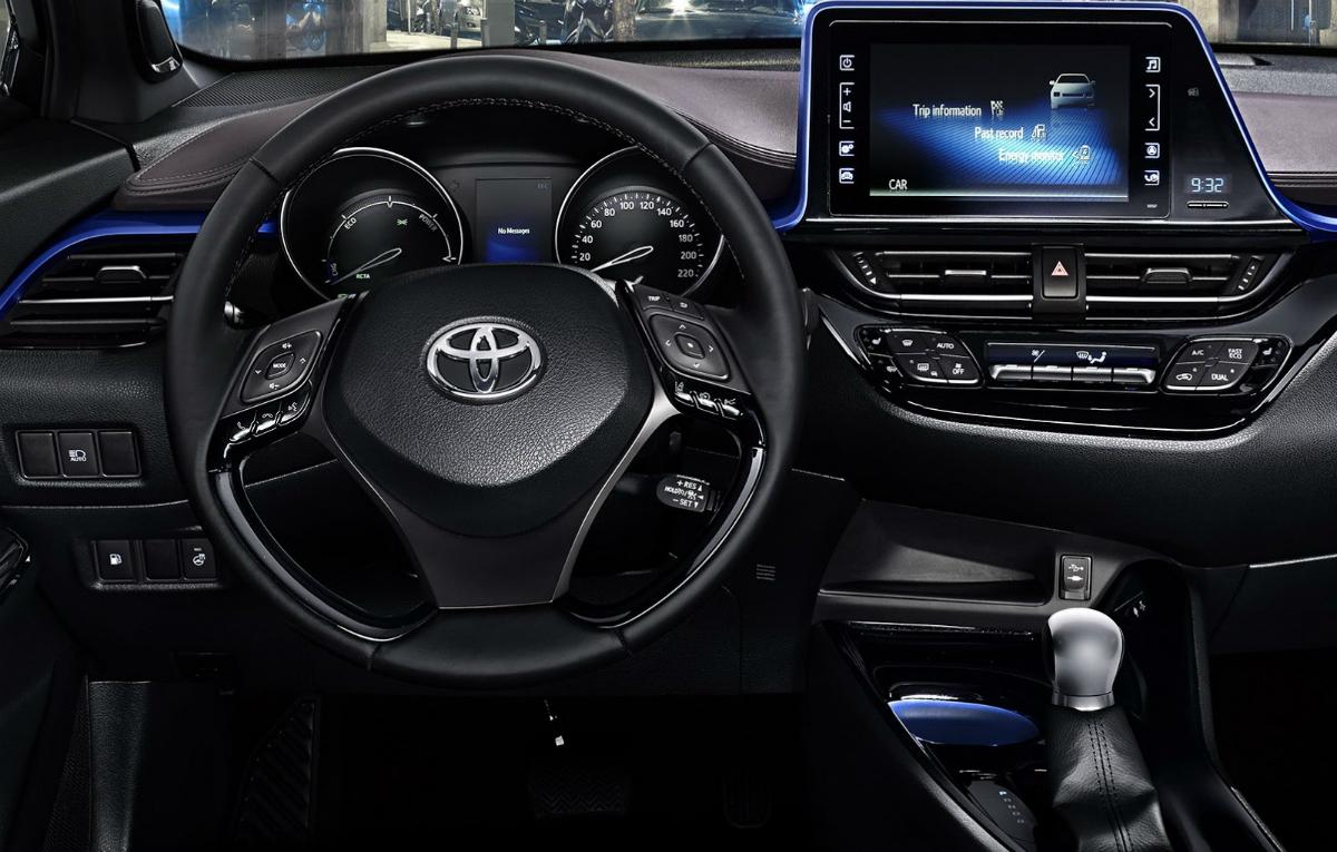 interior toyota c hr 5 auto bild
