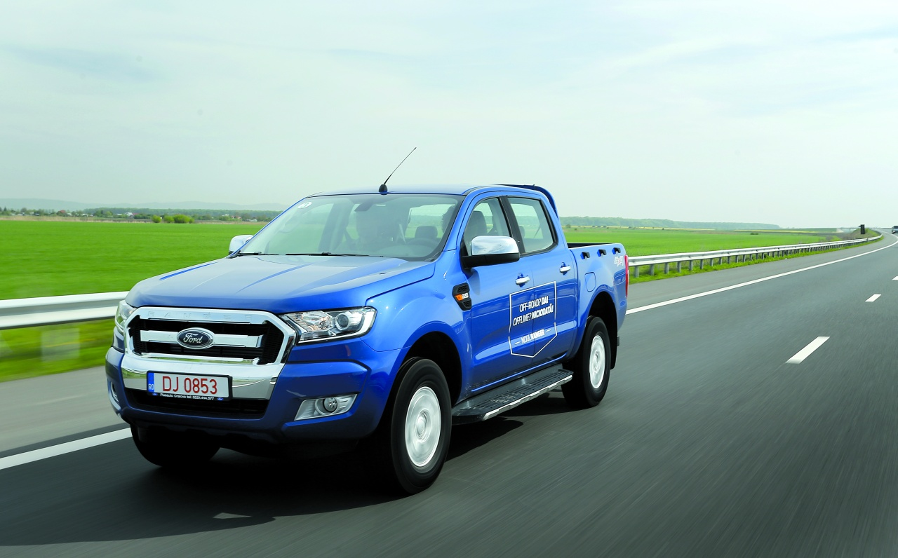 ford ranger expertul n sarcini grele autoutilitare test drive auto bild. Black Bedroom Furniture Sets. Home Design Ideas