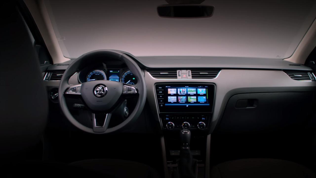 2016 skoda octavia facelift interior 7 auto bild for Skoda octavia interior