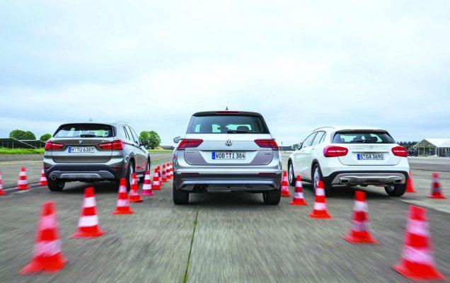 Volkwagen Tiguan / BMW X1 / Mercedes GLA