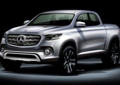 debut pick-up mercedes-benz