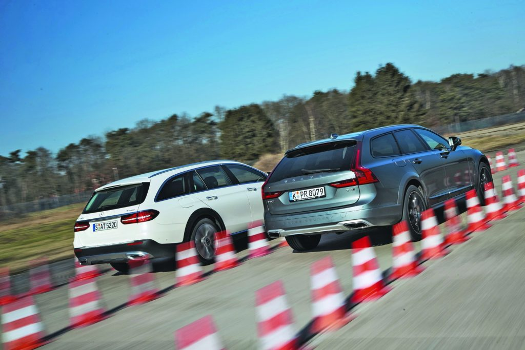 Volvo V90 Cross Country vs Mercedes Clasa E All-Terrain