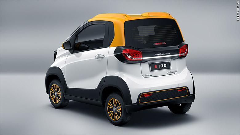 General Motors va lansa în China o mașină electrică de 5300 de dolari