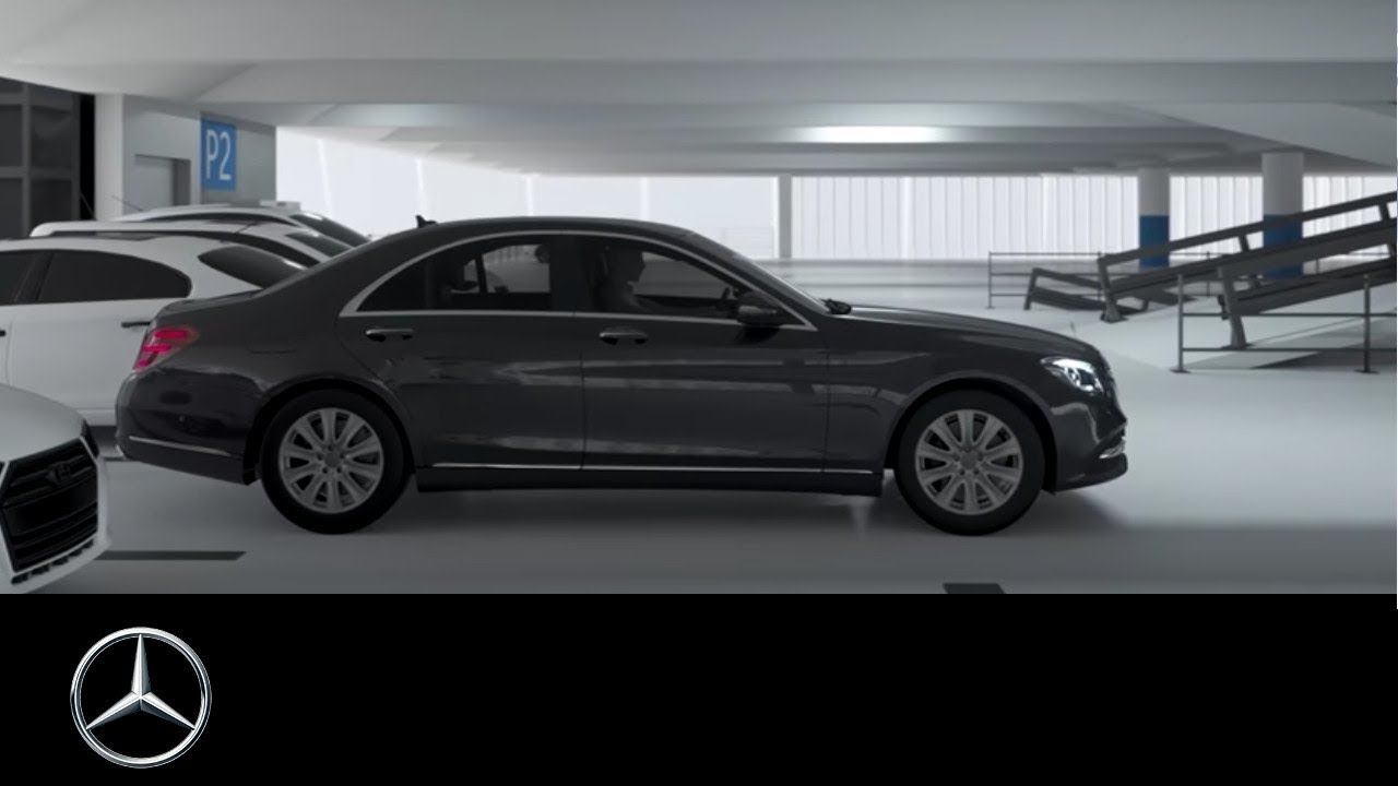 Mercedes benz clasa s 2017 cum se folose te remote for Parking at mercedes benz superdome