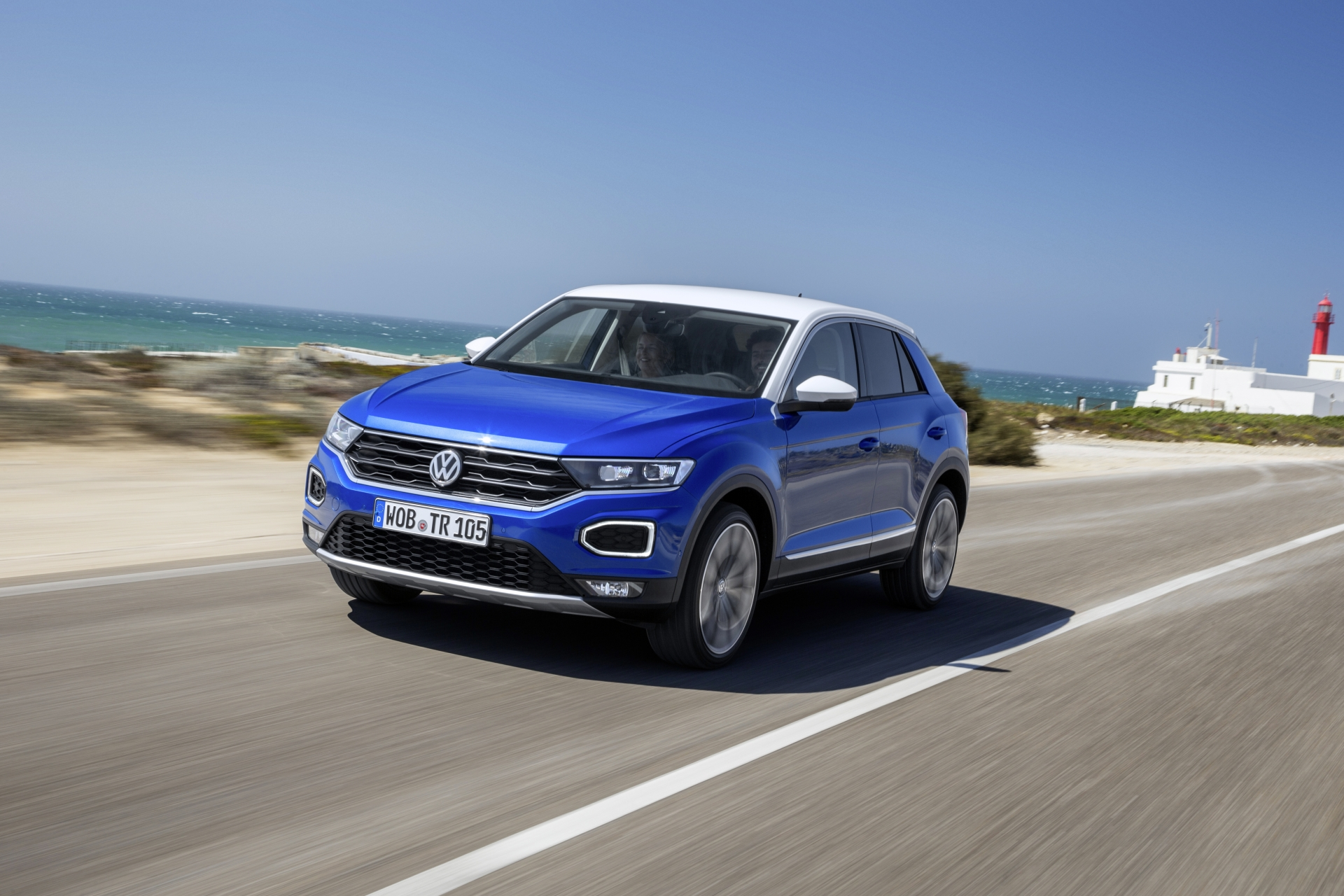 vw t roc 2 0 tdi 4motion dsg un suv cu preten ii sportive headline test drive teste auto bild. Black Bedroom Furniture Sets. Home Design Ideas