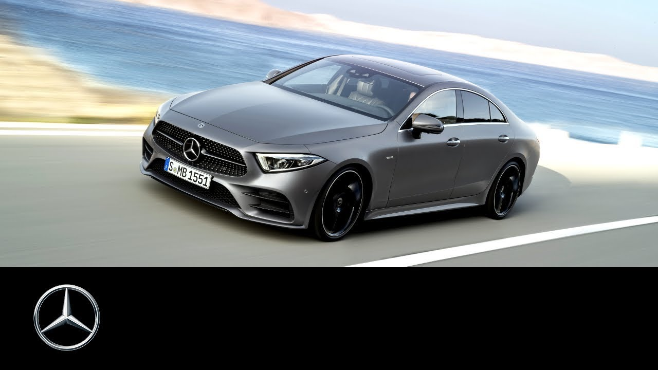 mercedes benz cls 2018 primul clip video oficial. Black Bedroom Furniture Sets. Home Design Ideas